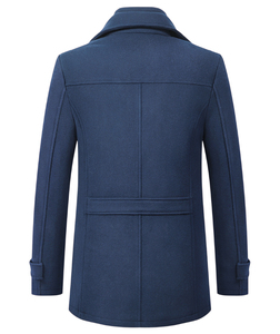 Image 2 - High Quality Wool Coat Men Overcoats Topcoat Mens Single Breasted Coats Jackets New Arrival Winter Wool Casual Manteau Homme