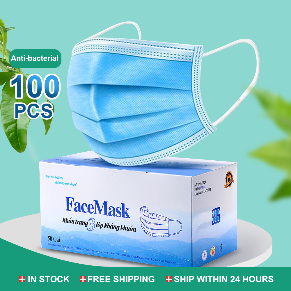 Hot Sale Pleated Anti-Dust Anti-Fog Protective Face Mask Soft Earloop Disposable Masks Filter Mascarillas Disposable Mask Care