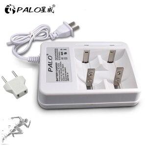 Image 5 - Умное зарядное устройство PALO со светодиодным дисплеем для аккумуляторных батарей 1,2 в Ni CD Ni mh AA/AAA/C/D