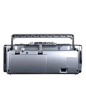 Image 4 - PANDA 6610 Tape Recorder Radio Small Dual Speaker Tape Learn English Playe Two Band Radio