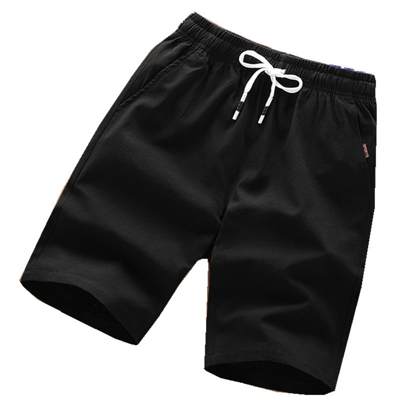 Shorts Men's Summer Sports Pure Cotton Shorts Loose-Fit Bermuda Shorts Summer Men Household Large Trunks 2019-