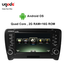 Ugode Car Multimedia Player GPS Navigation 7 Inches Screen Monitor Bluetooth Android OS For Audi TT Changer Canbus