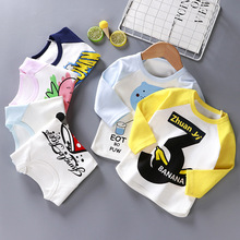 Spring Baby Boys T Shirts Girl Cotton Clothes Kids Long Sleeve T-Shirts Children Bee Print T-shirt Roupas Infant Tops Kids Tee new cotton summer top t shirts fortnite pattern tops baby coco boys t shirt kids clothes roupas infantis menino for dragon ball