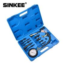 12Pc Del Motore Diesel Kit Tester di Compressione Diretta e Indiretta di Iniezione Tester