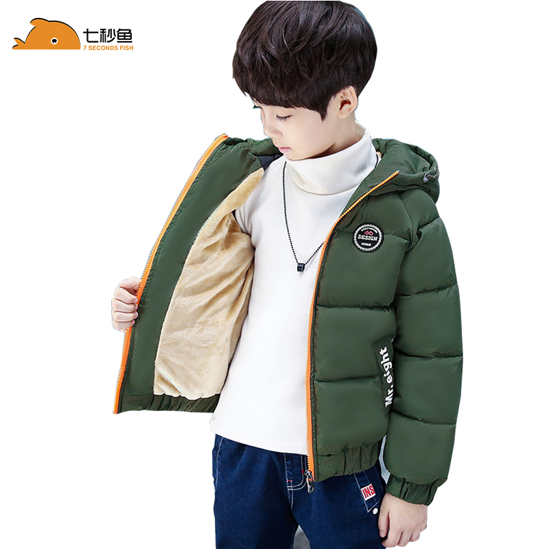 Children Outerwear Coat Winter Baby Boys Jackets Coat Infant Warm Baby Parkas Thick Kids Hooded Clothes -10/-20 Degree