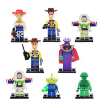 купить Compatible  Original Buzzed Blocks Set Lightyear Space Mech Building Bricks Movie 2 Toys For Children по цене 636.33 рублей