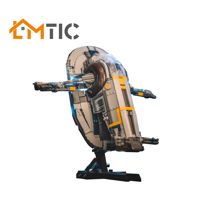 MOC Star Series Wars New Slave I–20th Anniversary Edition Slave NO.1 Spaceship Building Blocks <font><b>05037</b></font> Collection Model Xmas Gift image