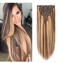 Hair-Extensions Doreen Caramel Natural Brown 240 Grams Piano Made-Remy DHL by Ins Real