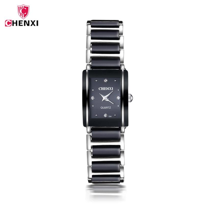 CHENXI Luxury Brand Watch Elegant Women's Watches Simple Stylish Design Ceramics Bracelet Quartz Casual Watch Montres 2019 Femme
