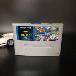 DIY 800 в 1 супер Китай Pro Remix игровая карта для 16 битной игровой консоли игровой картридж Поддержка всех консолей США/Евро/Япония