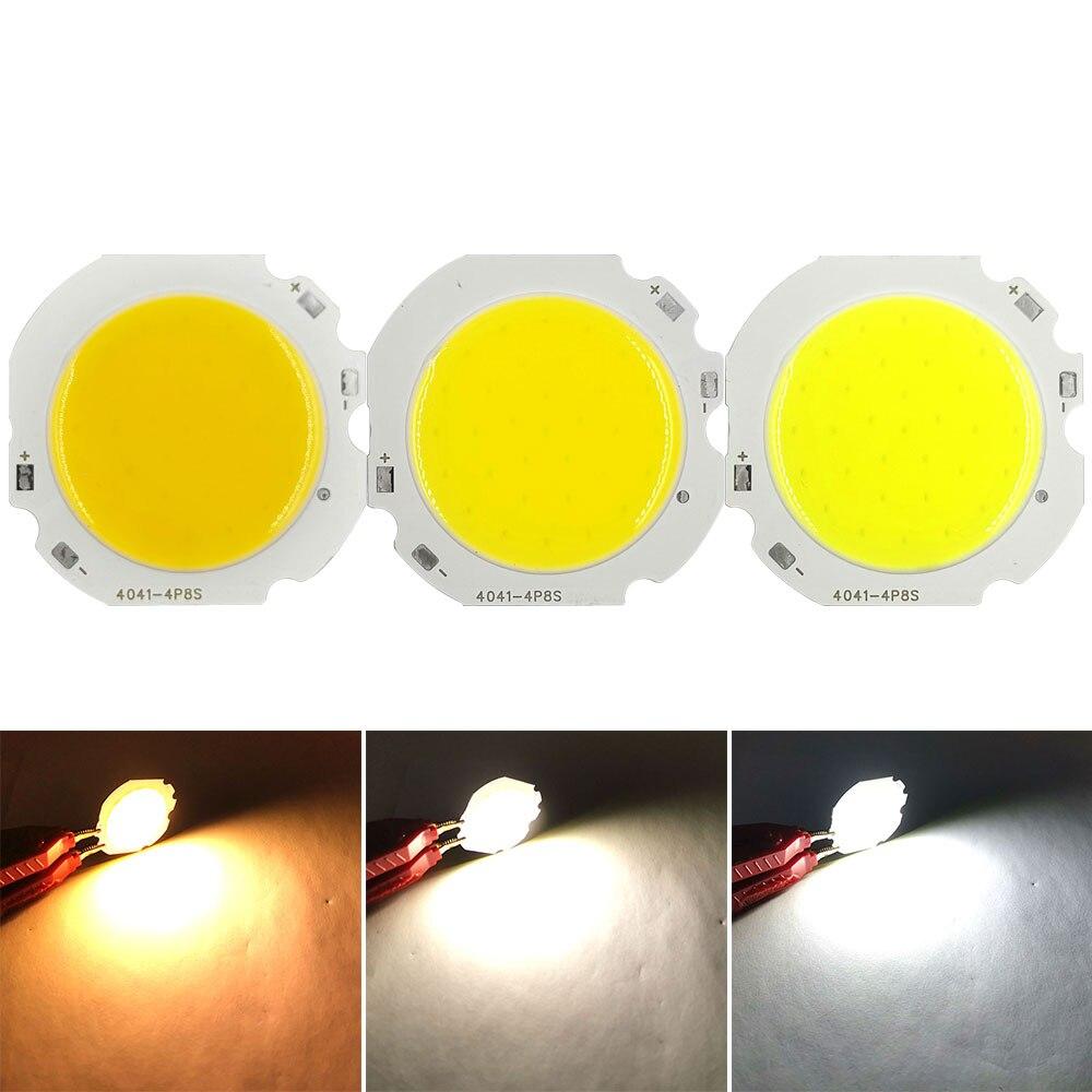 24V Round COB LED Chip On Board 10W DC24V Light Source For Indoor Lighting Truck Lights Warm Natural Cold White Emitting Colors