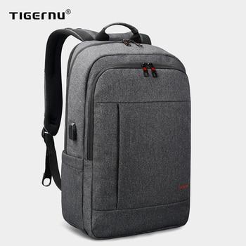Tigernu Anti theft USB bagpack 15.6 to 17inch laptop backpack for Men Boy school Bag Female Male Travel Mochila Business bagpack 1