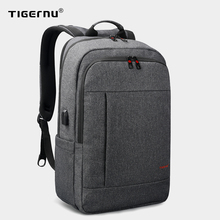 Tigernu Anti theft USB bagpack 15.6 to 17inch laptop backpack for Men Boy school Bag Female Male Travel Mochila Business bagpack