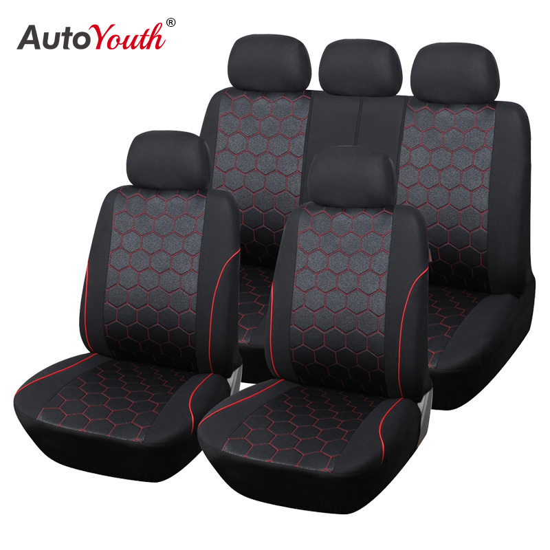 AUTOYOUTH Soccer Ball Style Car Seat Covers...