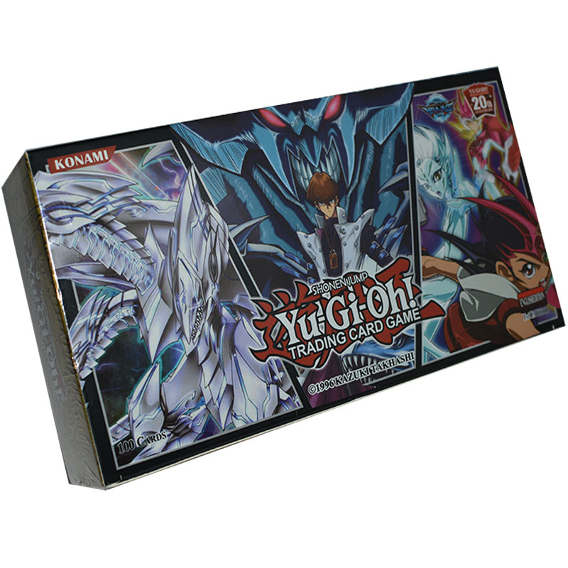 Yu Gi Oh 100pcs holographic card Giocattolo Hobby Collection Game Collection Anime di Carta