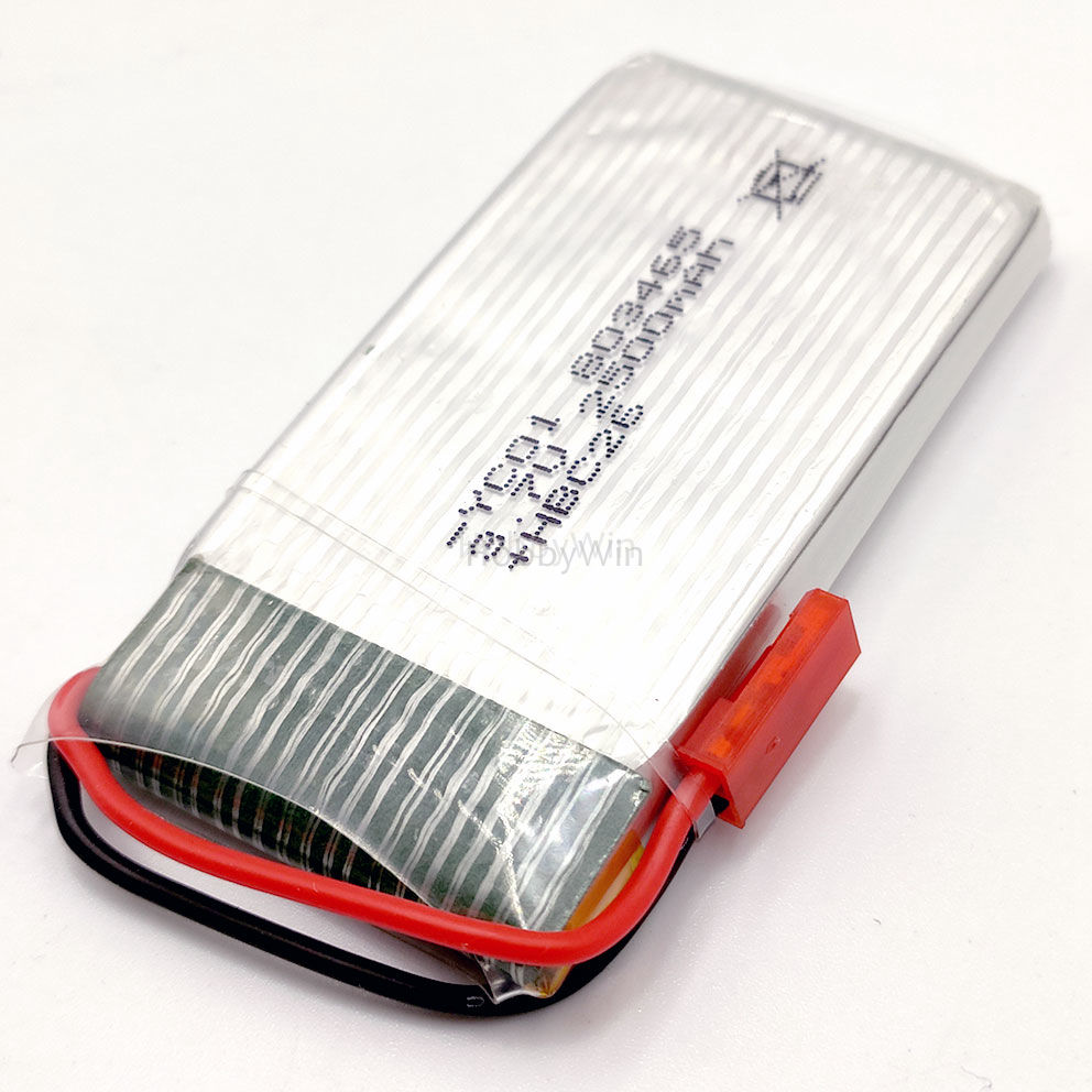 <font><b>3.7V</b></font> 1S <font><b>2500mAh</b></font> 25C <font><b>LiPO</b></font> <font><b>Battery</b></font> JST plug for FPV Drone RC Model Airplane Helicopter image