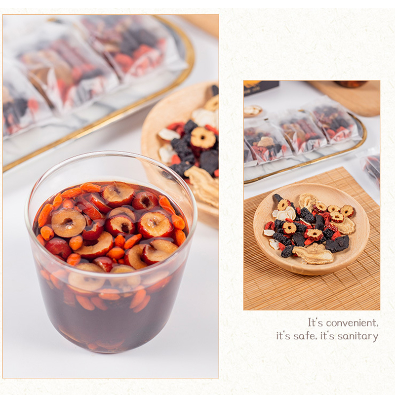 Ginseng Wubao Tea  Ginseng Maca Wolfberry Man Health Tea Men's Tea Nourishes Kidney Herbal Teas Men's Health  Relieve Fatigue 1