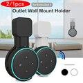 2/1 stücke für Amazon Alexa Echo Dot 3rd Generation UNS Stecker Outlet Wand Montieren Aufhänger Halter Stehen Platzsparende Halterung zubehör-in Lautsprecher Zubehör aus Verbraucherelektronik bei