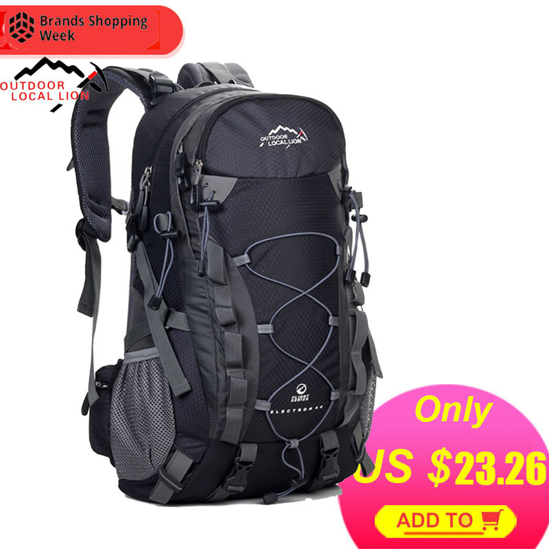 Mountaineering Backpack Sports-Bag Hiking-Traveling-Bag 40L Local Lion Outdoor Women