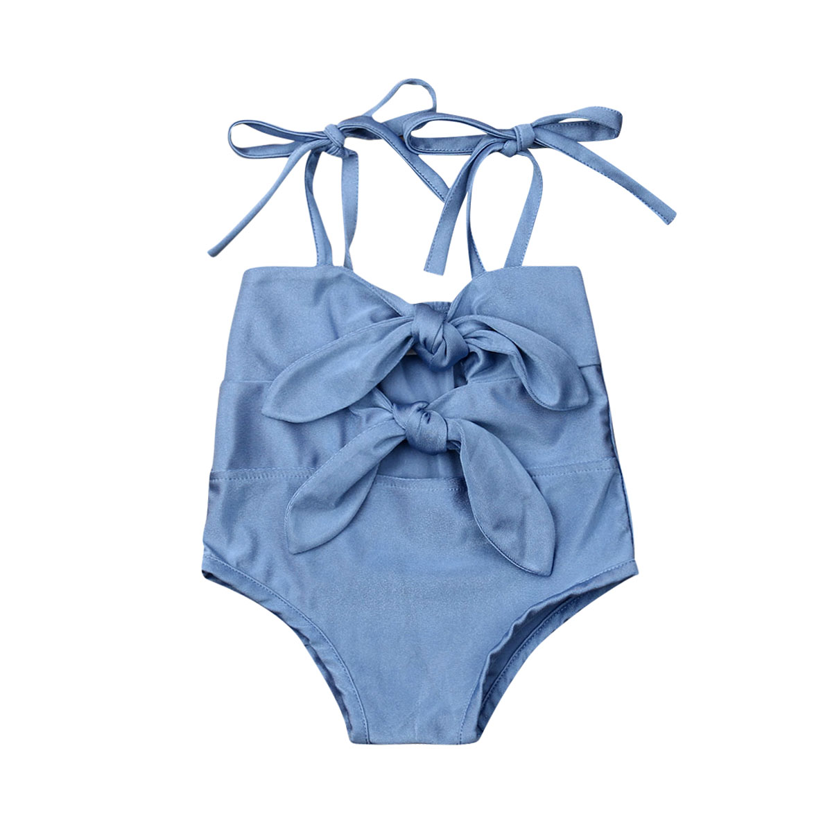 Baby Girls Kid One-Piece Swimsuit Swimwear Bikini Monokini Bathing Suit Beachwear Summer