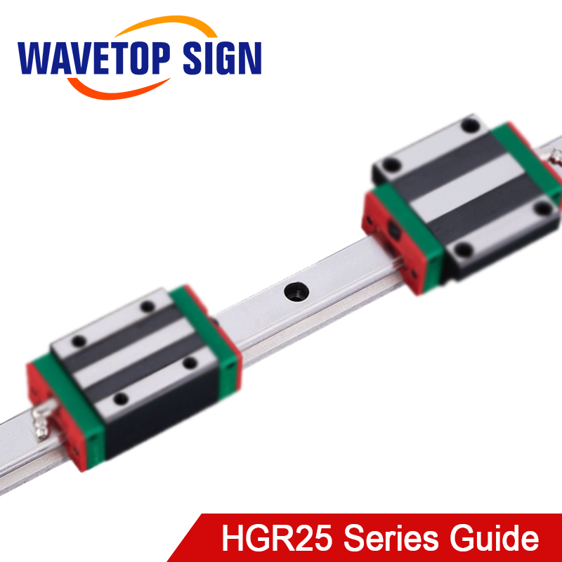 HIWIN Linear Guide HGR25 for Linear Rail Laser Engraving and Cutting Machine Diy Parts|Linear Guides| |  - title=