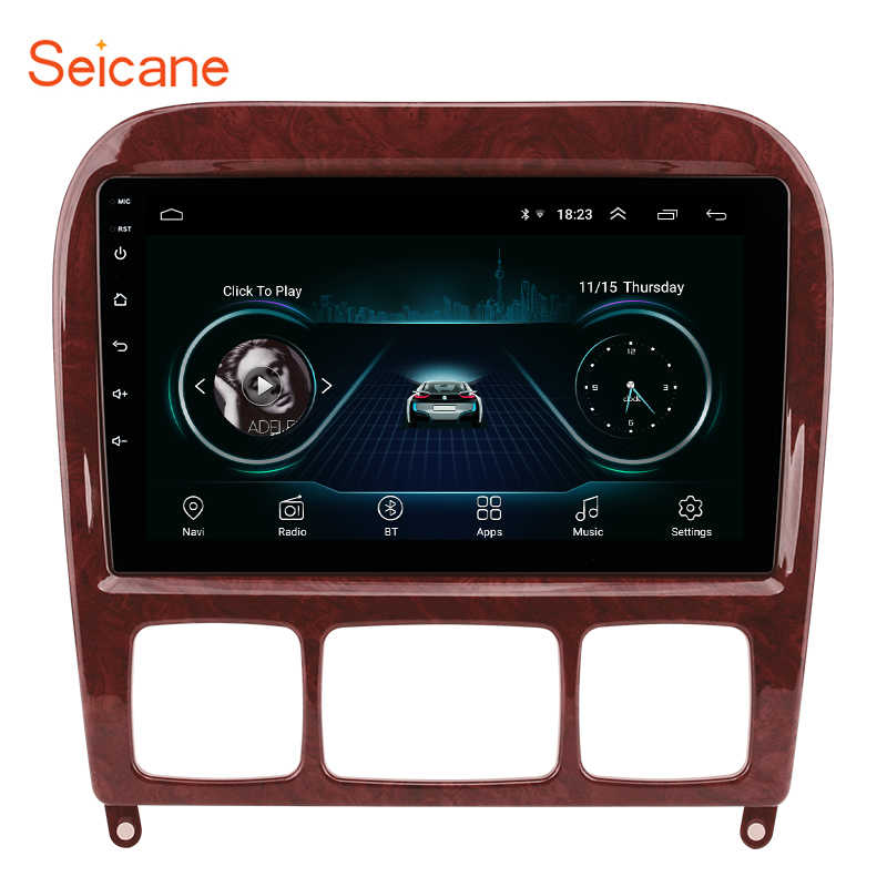 "Seicane Car Multimedia Player GPS 2Din 9"" For 1998-2005 Mercedes Benz S Class W220 S280 S320 S350 S400 S430 S500 S600 S55 AMG"