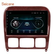 Seicane 2GB 자동차 멀티미디어 플레이어 GPS 2Din 1998 2005 메르세데스 벤츠 S 클래스 W220 S280 S320 S350 S400 S430 S500 S600 S55 AMG