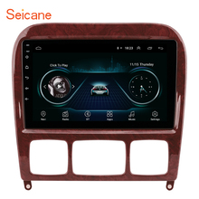 Seicane 2GB Máy Nghe Nhạc Đa Phương Tiện GPS 2Din Cho 1998 2005 Mercedes Benz S Class W220 S280 S320 S350 s400 S430 S500 S600 S55 AMG