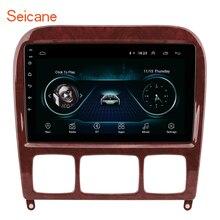 Seicane 2GB araba multimedya oynatıcı GPS 2Din 1998 2005 Mercedes Benz S sınıfı W220 S280 S320 S350 s400 S430 S500 S600 S55 AMG