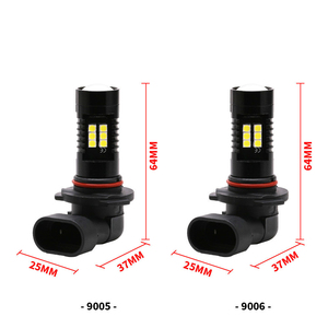 Image 4 - 2X led車電球H8 H11 21 smd 3030超高輝度自動車led電球ランプ6000ション [6000kフォグライト車ドライビングランプdrl 12 24v 21ワット