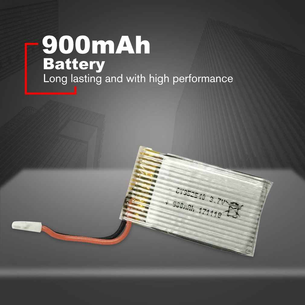 RC Drone Battery Spare Battery Replaceable Lithium Battery 3.7V 900mAh Lipo Battery for S16 Drone RC Helicopter