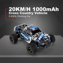 LR-C004 1/18 RC Car 4WD climbing Car Double Motors Drive Bigfoot Car Remote Control Model Off-Road Vehicle Toys Gift(China)