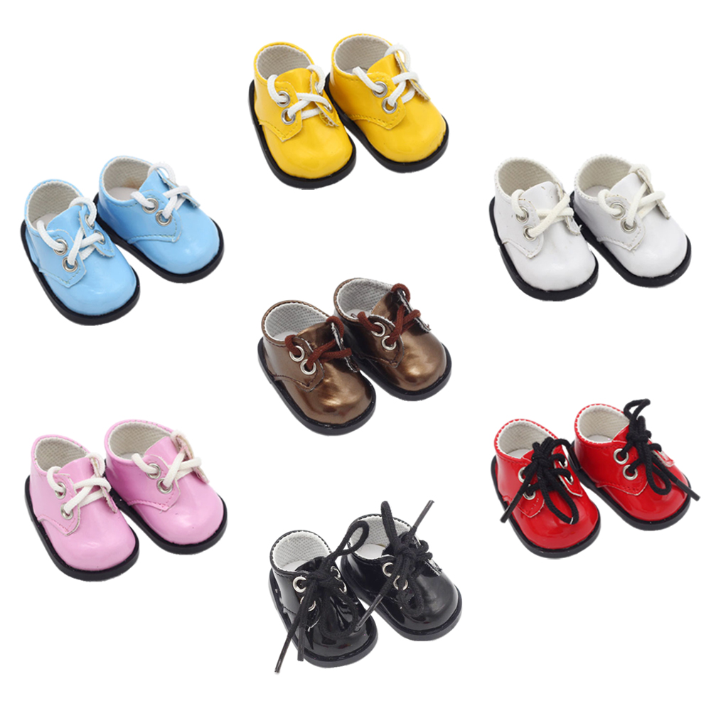 14.5-inch Girls Doll Shoes Fashionable BJD EXO Sports Shoes PU American Newborn Shoes Baby Toys Fit Milo Dolls