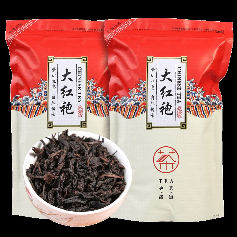 New Chinese Da Hong Pao Tea Big Red Robe Oolong Tea The Original Green Food Wuyi Rougui Tea For Health Care Lose Weight