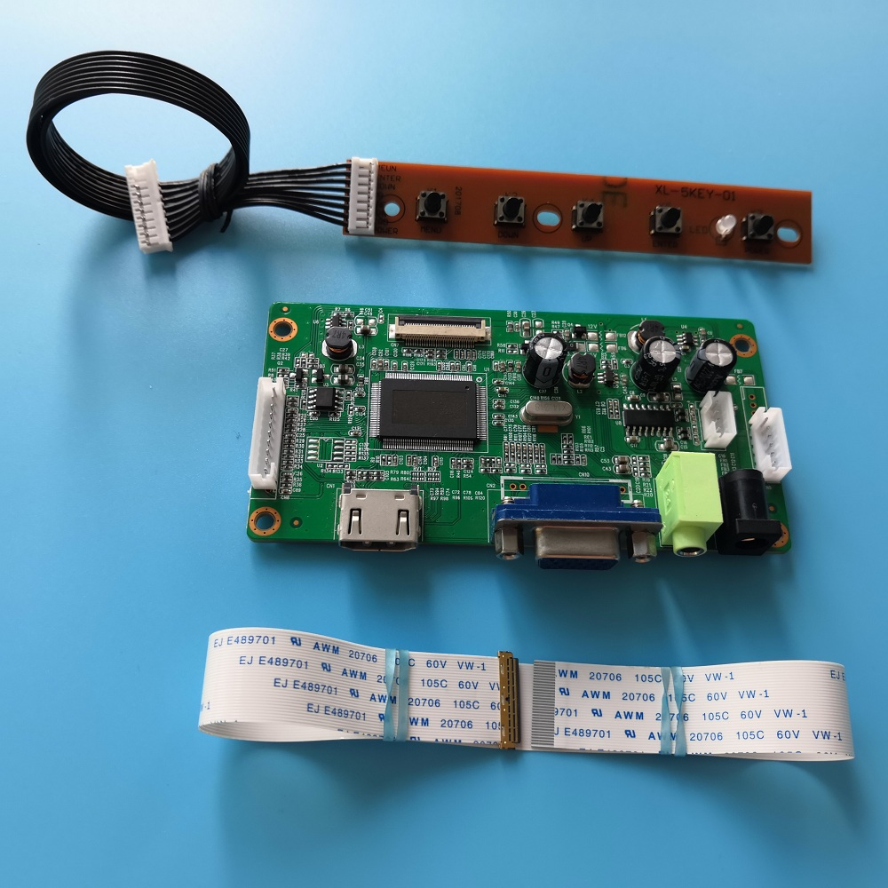 For LP156WHB-TPC1/TPC2 Cable Monitor 1366X768 Controller Board Screen Display Panel EDP LCD LED HDMI Driver Kit 15.6