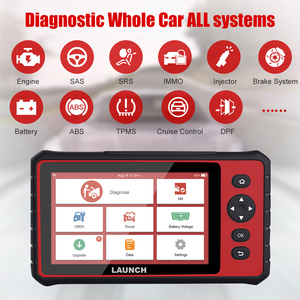 Image 1 - LAUNCH  CRP909 OBD2 Car Diagnostic Tool Wifi Full Systems Automotive Scanner ABS SAS DPF EPB   Oil Reset OBD 2 Scanner Launch