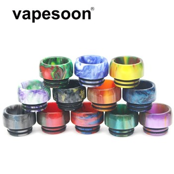 50pcs Beautiful 810 Drip Tip Resin Mouthpiece for TFV8 Big Baby TFV12 Prince Sticke V8 E Cigarette Accessories Drip Tip 810
