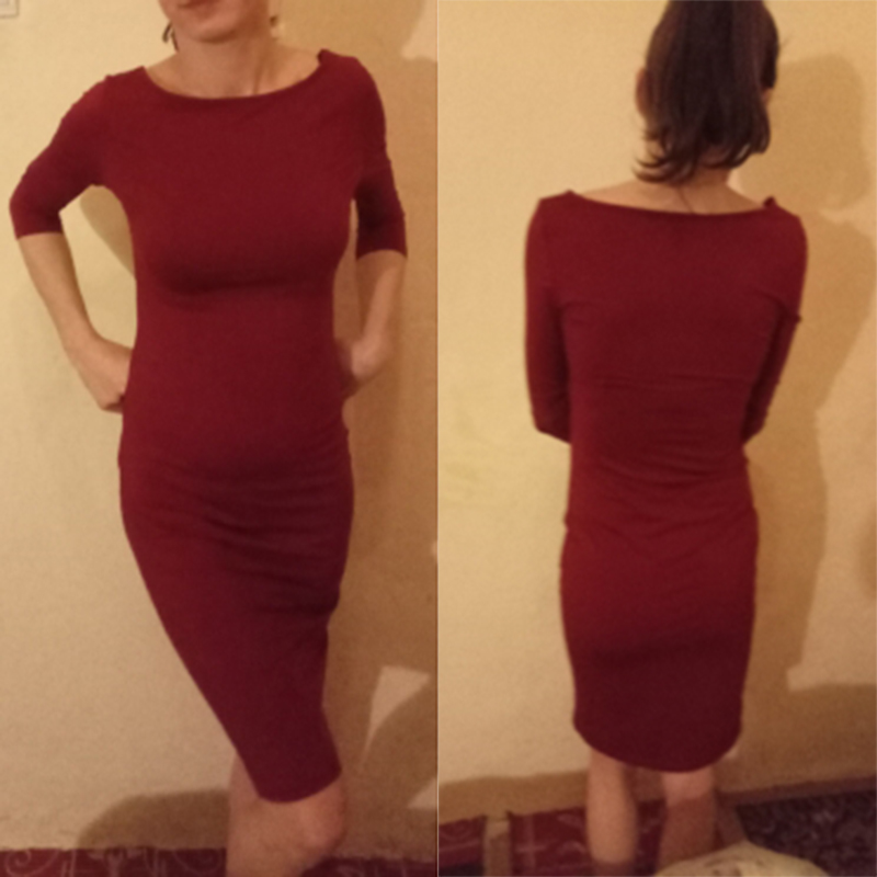 Sexy Club Low Chest Velvet Bodycon Dress Women Spring Zipper Black Red Slit Ladies Dresses Office Dress For Women 2020 Autumn 5