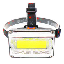 Portable mini COB LED Headlamp USB charging Outdoor camping Fishing headlights Work Maintenance Searchlight lantern flashlight portable zooming xml t6 led headlamp waterproof zoom fishing headlights camping hiking flashlight with usb cable
