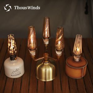 Thous Winds Outdoor Camping Lamp Ultralight Portable Gas Lamp Tourist the Tent Night Lights Camping Gas Lantern
