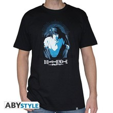 Abystyle – t-shirt unisexe avec motif de la mort pour homme, haut à la mode, motif de dessin animé
