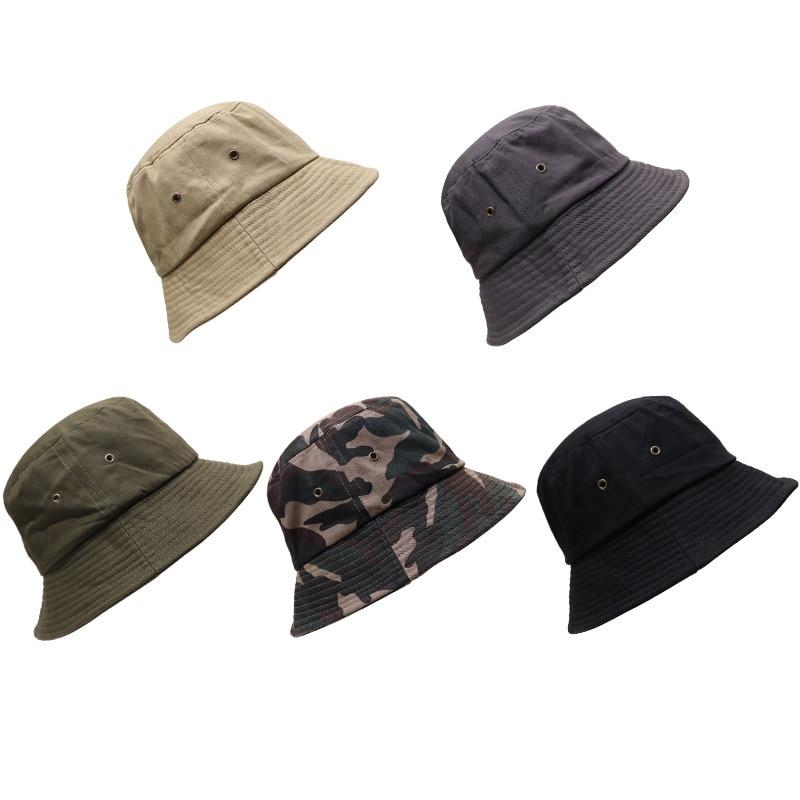 Men Women Bucket Hat Fashion Caps Bob Hat Chapeau Kpop Caps Woman Men UV protection Visor Bucket Sun Fisherman Caps for Men Male