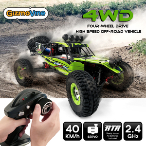 Image 5 - 1/12 RC Cars 4WD High Speed Racing car 48km/h RTR Rc truck 2.4G Radio Control Buggy Off Road vehicle Electric Toy Gifts