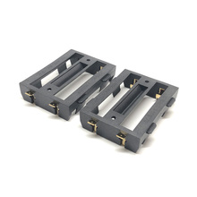 MasterFire 20pcs/lot 2 X 26650 Black Battery Case Holder SMD SMT Storage Box With Bronze Pins For Rechargeable Batteries