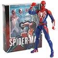 SHF Spiderman PS4 Расширенный костюм ПВХ экшн-фигурка Коллекционная модель игрушка