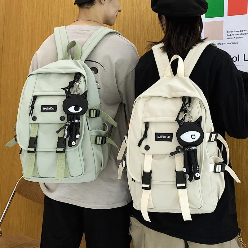 Tooling Men Women Backpack 2020 Female Large Capacity School Backpacks for Teens Harajuku Student School Bags Fashion Korean New