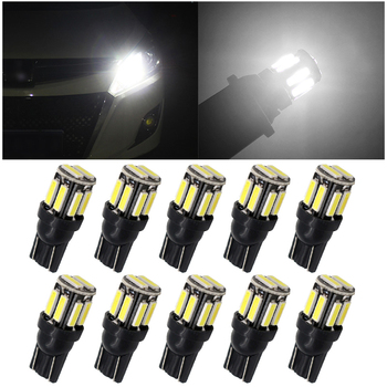 2pcs W5W T10 Canbus LED Bulbs for Parking Position Interior Lightss for BMW VW Mercedes Audi A3 8P A4 6B BMW E60 E90 Auto Lamps image