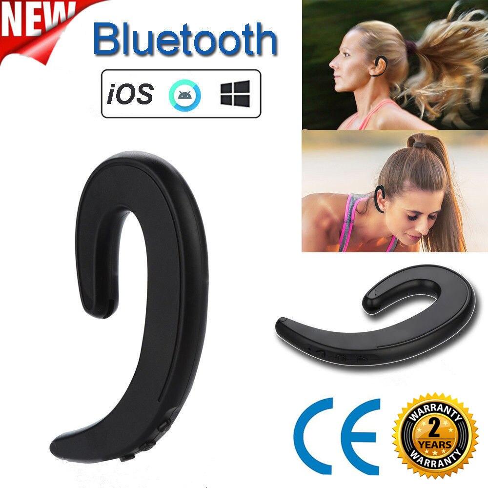 2020wireless Headphone Bluetooth Earphone Ear Hook Painless Headset For Iphone Xiaomi Samsung Bone Conduction Earphone Bluetooth Bluetooth Earphones Headphones Aliexpress