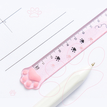 Cat Ruler Kawaii Accessories Cute Ruler Novelty Stationery Patchwork Ruler Cartoon Cute Set of Drafting Rules School Supplies