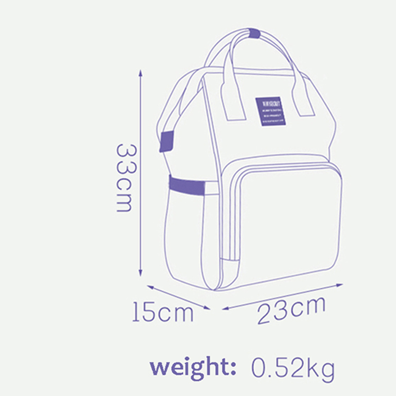 H35bc76d31b6442e0815c3369b95b59c7S Diaper Bag Backpack For Moms Waterproof Large Capacity Stroller Diaper Organizer Unicorn Maternity Bags Nappy Changing Baby Bag